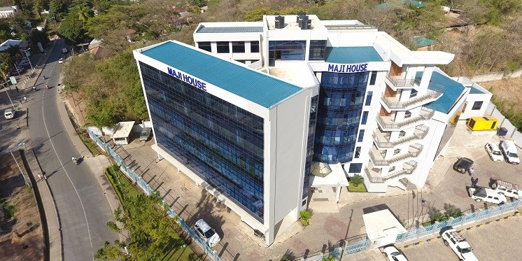 The Headquarter of Mwanza Urban Water Supply and Sanitation Authority (MWAUWASA)